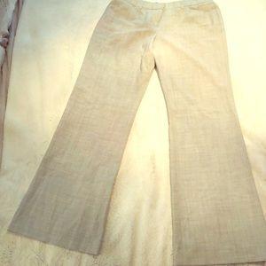 Women's pant size 6 heather grey wide leg